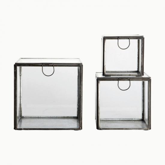 Aufbewahrungsbox Glas