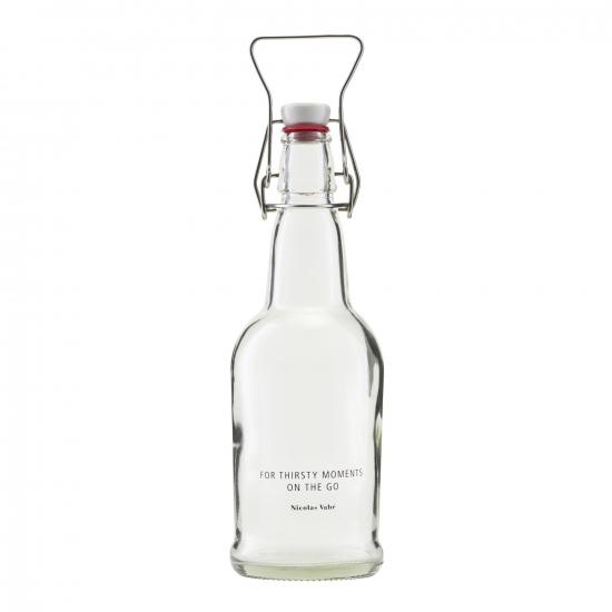 Glasflasche mit Verschluss