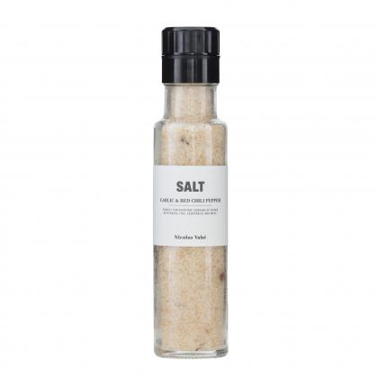 Salz Knoblauch & roter Pfeffer