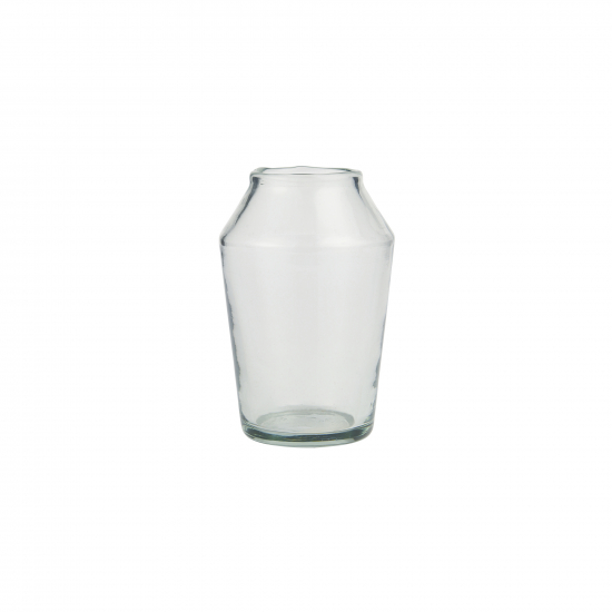 Vase Glas konisch