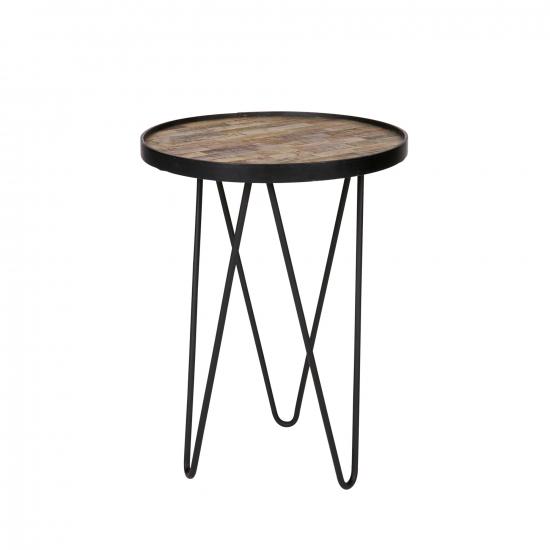 Beistelltisch Metall/ Holz