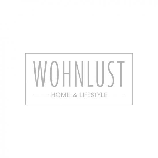 Vase Glas gerippt