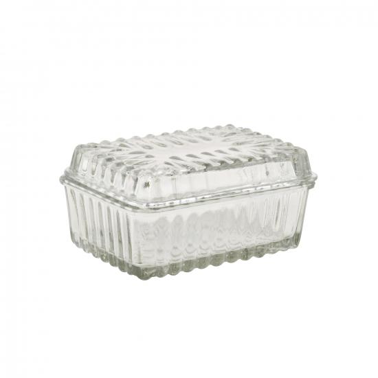 Butterdose Glas