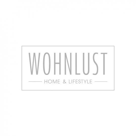 Glasflasche mit losem Kerzeneinsatz