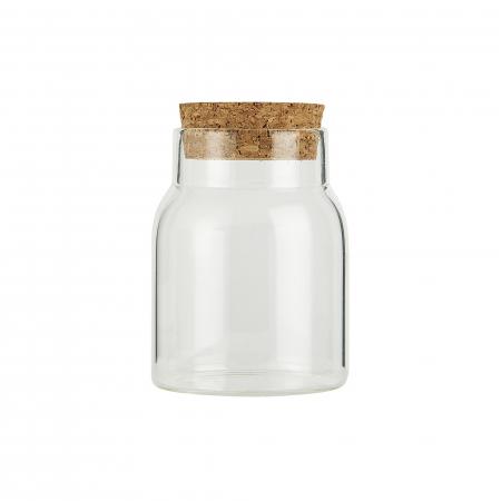 Ib Laursen - Glas mit Korkdeckel