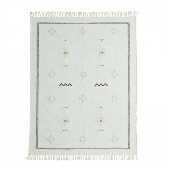 Teppich Baumwolle handgewebt