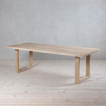Tisch Eiche Baumkante