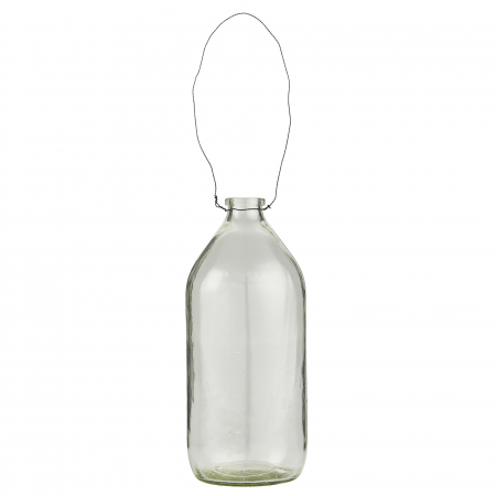 Flasche mit Drahthänger
