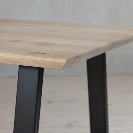 Tischplatte - Schweizer Kante - Eichenholz