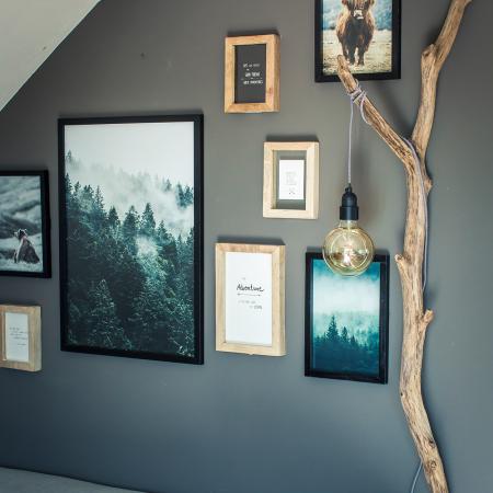 Wohnzimmer Dekoration Wand