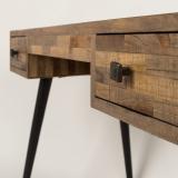 Schreibtisch mit 2 Schubladen