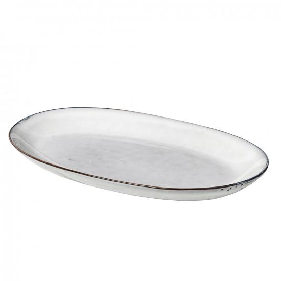 Platte oval medium NORDIC SAND