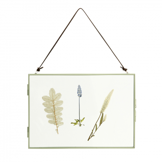 Nordal - Bilderrahmen mit getrockneten Blumen 30x20