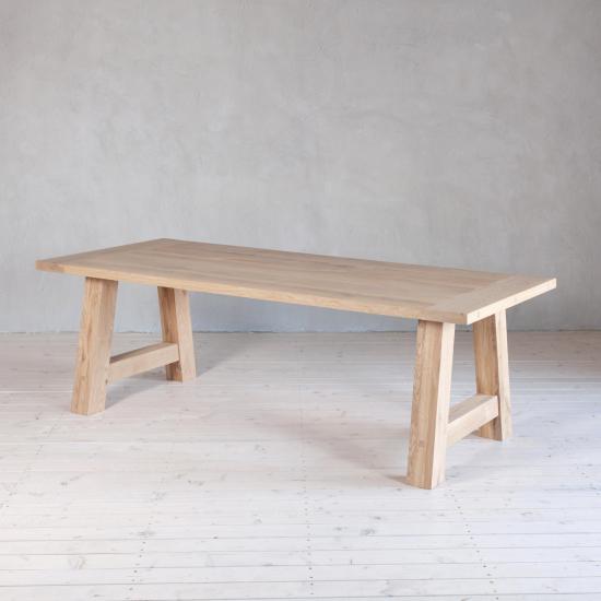 Wohnlust - Tisch Eiche inkl. Gestell Eiche Gestell A
