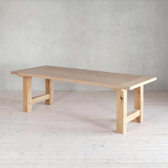 Wohnlust - Tisch Eiche inkl. Gestell Eiche Gestell H