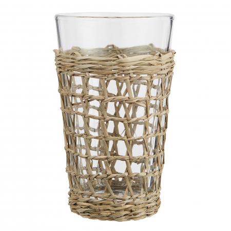 Trinkglas Seegras